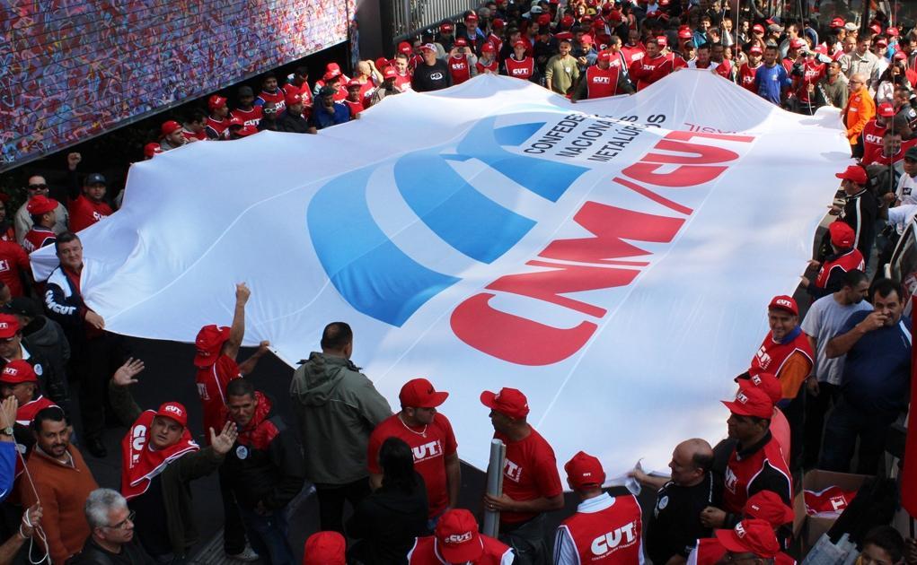 """Paulo Cayres: """"Nossa luta não tem trégua"""" [Foto: CNM/CUT]"""