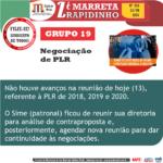 RAPIDINHO Nº 253 – Grupo 19: Negociação de PLR